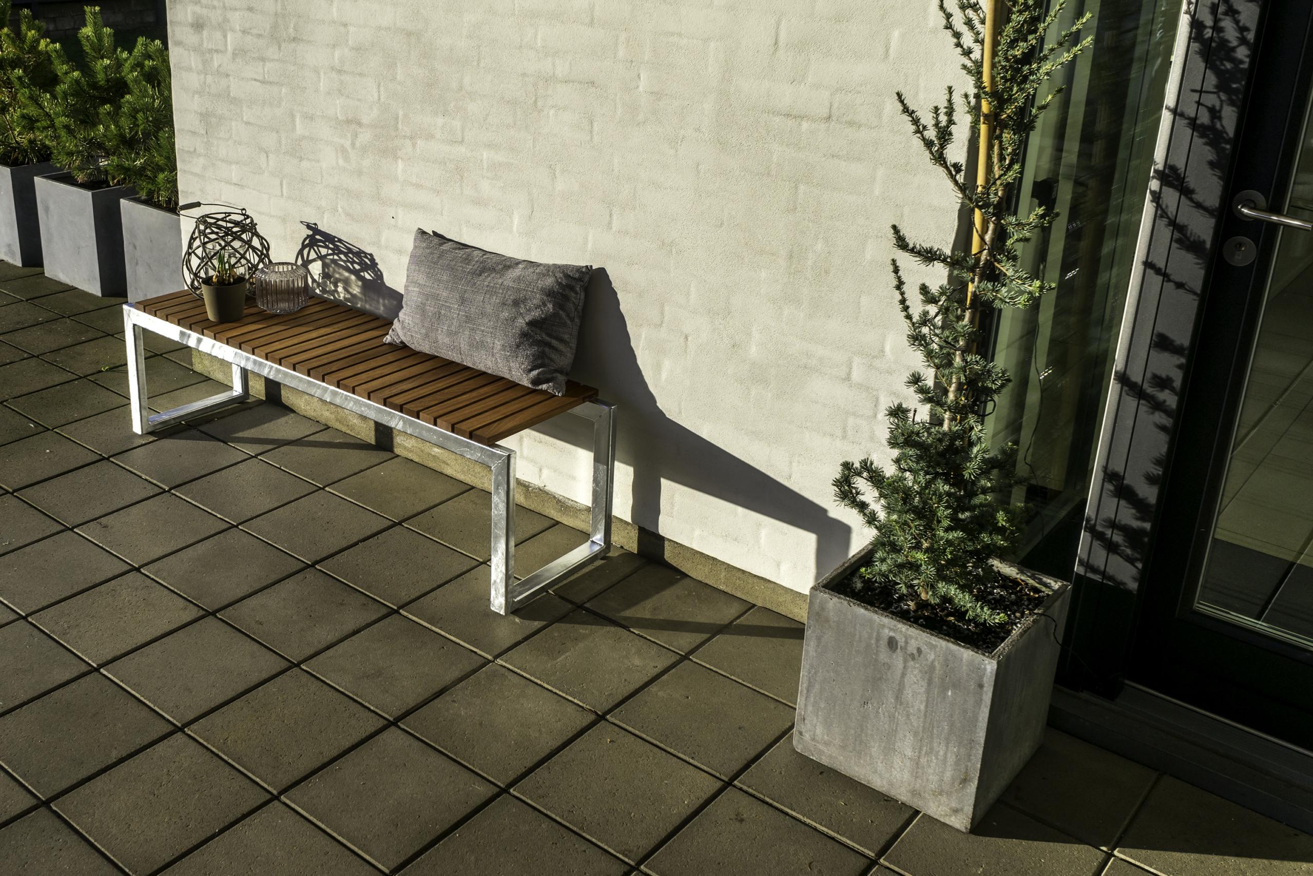 Havebænk Gedebjerg design