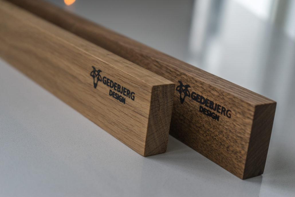 knivmagnet træ design