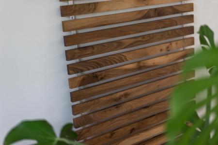 Knagerække træ lameller Vestkyst gedebjerg design