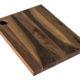 skærebræt træ serveringsfad valnød design