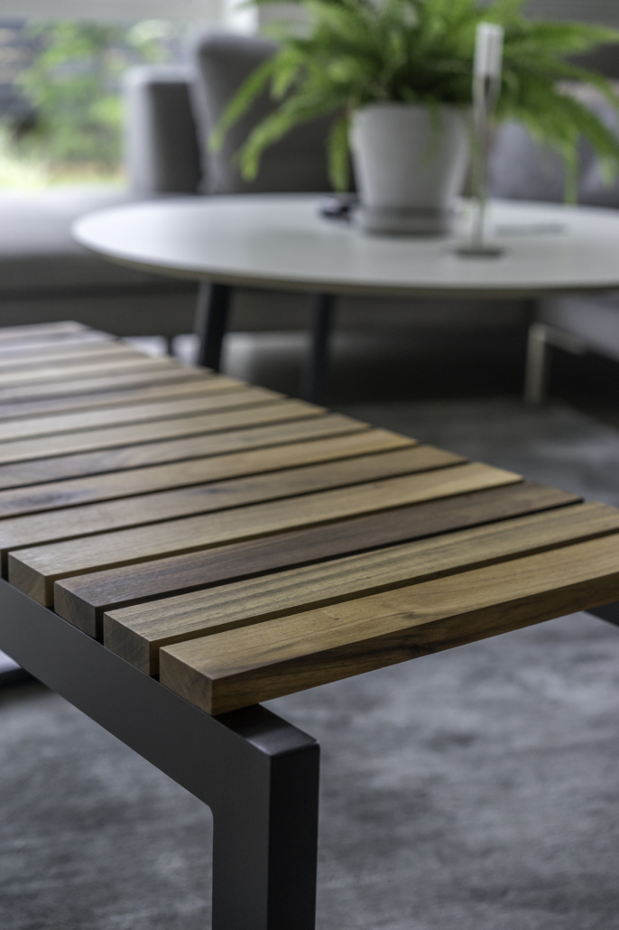 Bænk design Træ Gedebjerg Design