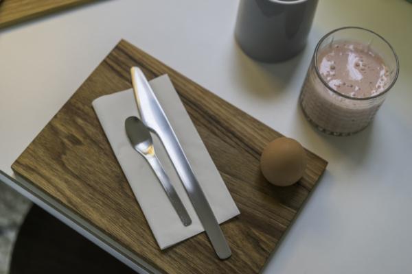 smørrebræt æggebæger design